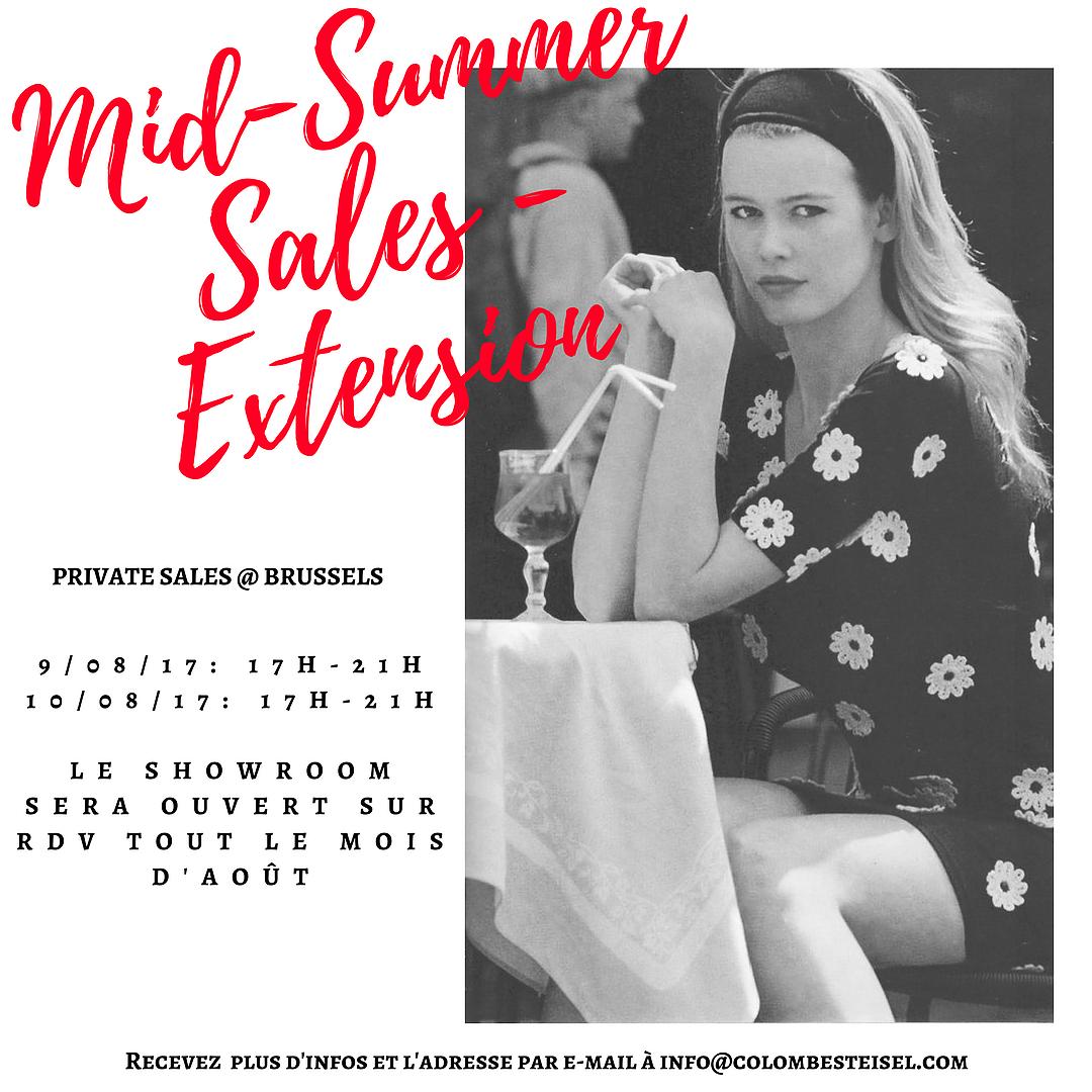 Mid-Summer sales